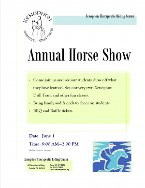 HorseShow-Flyer2013